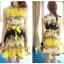 CHU VIVI DRESS ชุดเดรส แฟชั่นเกาหลี แขนกุด ใส่ทำงาน ผ้าชีฟอง ลายดอกไม้ สีเหลือง น้ำเงิน ขาว อัดพลีททั้งชุด แนววินเทจ ใส่ไปงานแต่งงาน พร้อมเชือกผูกเอว สามารถใส่ออกงานได้ สวยมากๆ thumbnail 3
