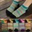 S216**พร้อมส่ง** (ปลีก+ส่ง) ถุงเท้าแฟชั่นเกาหลี ข้อสั้น เนื้อดี งานนำเข้า(Made in China) thumbnail 2