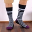 S368**พร้อมส่ง** (ปลีก+ส่ง) ถุงเท้าแฟชั่นเกาหลี ชาย ข้อยาว เนื้อดี งานนำเข้า(Made in china) thumbnail 4