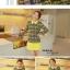 ชุดเดรส แบรนด์ Bluearly แท้ 100% ชุดเดรสทำงาน สีเหลือง ผ้าโพลีเอสเตอร์อย่างดี คอปกโปโล แขนยาว thumbnail 3