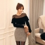 เสื้อผ้าแฟชั่นเกาหลี Set 2 ชิ้น ( เสื้อและกระโปรง) thumbnail 4