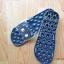 K020-ฺDBL **พร้อมส่ง** (ปลีก+ส่ง) รองเท้านวดสปา เพื่อสุขภาพ ปุ่มใหญ่สลับเล็ก (การ์ตูน) สีกรมท่า ส่งคู่ละ 150 บ. thumbnail 6