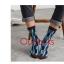S369**พร้อมส่ง** (ปลีก+ส่ง) ถุงเท้าแฟชั่นเกาหลี ชาย ข้อยาว เนื้อดี งานนำเข้า(Made in china) thumbnail 4