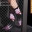 S329**พร้อมส่ง**(ปลีก+ส่ง) ถุงเท้าข้อยาว แฟชั่นเกาหลี วันฮาโลวีน มีหู มี 12 คู่ต่อแพ็ค เนื้อดี งานนำเข้า(Made in China) thumbnail 17