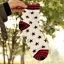 S136**พร้อมส่ง** (ปลีก+ส่ง) ถุงเท้าแฟชั่นเกาหลี ข้อยาว เนื้อดี งานนำเข้า(Made in china) thumbnail 3
