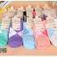 S342 **พร้อมส่ง** (ปลีก+ส่ง) ถุงเท้าแฟชั่นเกาหลี ข้อยาว คละ 5 สี มี 10 คู่/แพ็ค เนื้อดี งานนำเข้า(Made in China) thumbnail 1