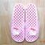 K011-PPK **พร้อมส่ง** (ปลีก+ส่ง) รองเท้านวดสปา เพื่อสุขภาพ ปุ่มเล็ก ลายมายเมโลดี้ สีชมพูอ่อน thumbnail 1