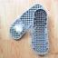 K011-DGY **พร้อมส่ง** (ปลีก+ส่ง) รองเท้านวดสปา เพื่อสุขภาพ ปุ่มเล็ก ลายโตโรโร่ สีเทา thumbnail 4