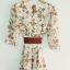 fashion ชุดทำงาน ชุดเดรสทำงาน แฟชั่นเกาหลี ลายดอกไม้ สีเขีย ผ้าชีฟอง ซื้อเป็นของขวัญให้แฟนเหมาะมากๆ ครับ (พร้อมส่ง) thumbnail 6