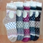 S246**พร้อมส่ง** (ปลีก+ส่ง) ถุงเท้าแฟชั่น สไตล์ ญี่ปุ่น ข้อยาว คละ 5 สี มี 12 คู่ต่อแพ็ค เนื้อดี งานนำเข้า(Made in China) thumbnail 5