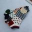 S347 **พร้อมส่ง** (ปลีก+ส่ง) ถุงเท้าแฟชั่นเกาหลี ข้อสั้น คละ 5 สี มี 12 คู่/แพ็ค เนื้อดี งานนำเข้า(Made in China) thumbnail 3
