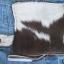 กระเป๋าสตางค์ยาว ขนวัวแท้ Style Cowboy รุ่น กระดุ่มสีตะค็อย thumbnail 5