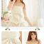 ชุดเดรสเกาหลี เป็นชุดเดรสออกงาน ผ้าซาติน สีแอพพริคอท แต่งโบว์ สม๊อคช่วงอก น่ารัก ใส่เป็นชุดไปงานแต่งงาน สวยมากๆ ครับ thaishoponline (พร้อมส่ง) thumbnail 4