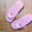 K016-PK **พร้อมส่ง** (ปลีก+ส่ง) รองเท้านวดสปา เพื่อสุขภาพ ปุ่มเล็ก ลายมายเมโลดี้ สีชมพู thumbnail 2