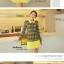ชุดเดรส แบรนด์ Bluearly แท้ 100% ชุดเดรสทำงาน สีเหลือง ผ้าโพลีเอสเตอร์อย่างดี คอปกโปโล แขนยาว thumbnail 2